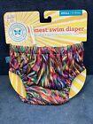 NEW The Honest Company Swim Splash Reusable Diaper Small S 11-18 Pounds BL