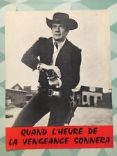 QUAND L'HEURE DE LA VENGEANCE SONNERA avec MARK DAMON PAMELA TUDOR - Synopsis