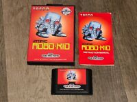 Atomic Robo-Kid Sega Genesis Complete CIB Excellent Condition Authentic