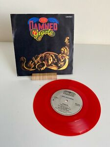 "The Damned Gigolo 7"" Single Limited Ed. Red Transparent - No Poster - VG/VG"