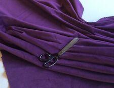 gute Qualität Dunkel Lila Einrichtung Baumwolle Samt 340gm ² 140 cm