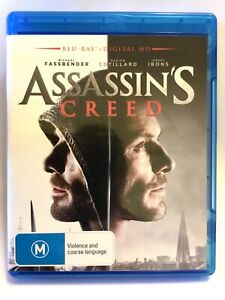 Assassins Creed Blu Ray - AS NEW