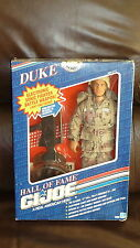DUKE GI JOE HALL OF FAME 1991 BOX CORNERS ROUGH