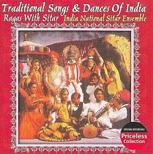NEW Traditional Songs And Dances Of Indian - Ragas With Sitars (Audio CD)