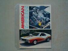 1968 American Motors Amx Pro Street *Original Article
