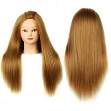 Hairdressing Doll Head Synthetic Hair Training Practise Mannequin Styling Dummy