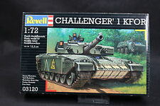 XR016 REVELL 1/72 maquette tank char 03120 Challenger 1 KFOR année 2000