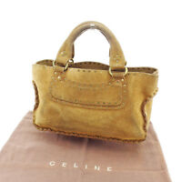 Celine Tote bag Brown Woman Authentic Used E783