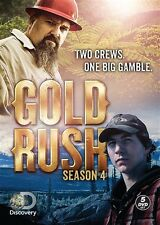 GOLD RUSH SEASON 4 New Sealed 5 DVD Set Discovery Channel