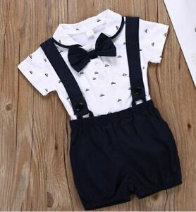 Baby boy 2 Piece Special Formal occasion soft outfit birthday present wedding