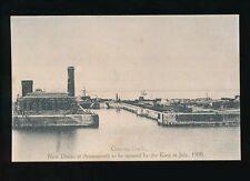 Gloucestershire Glos AVONMOUTH Graving New Docks to be opened 1908 unused PPC