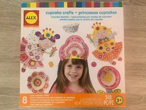 Alex Toys Cupcake and Princesses Creative Crafts Set with 248 Pieces