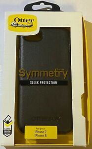 "NEW Genuine Otterbox Symmetry Slim Case for iPhone 8 / 7 (4.7"") - Black"