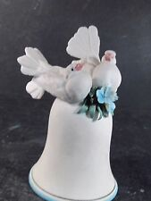 1980's House of Goebel Italy Porcelain Dove Bell