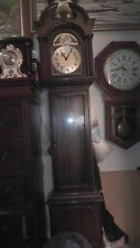 Herschede Grandfather Clock Tempus Fugit Grand Father 6 ft. tall Nice Needs work