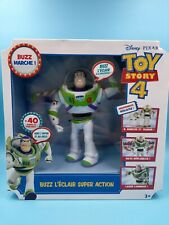 Neu Spielzeug mattel Disney Pixar Toy Story 4 Buzz L' Zip Super Action Spricht