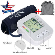 Automatic Digital Upper Arm Blood Pressure Monitor Measure Heart Rate Tester IHB