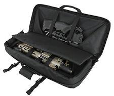 """28"""" Deluxe Compact Rifle Bag AR15 AK Tactical Pistol Subgun SBR Case Black."""