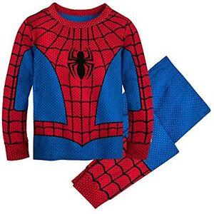 Marvel Spider-Man Costume PJ PALS for Boys, Size 4