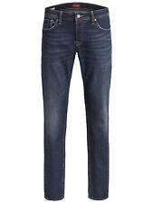 Jack & Jones Herren Jeans Hose Jji Tim JjOriginal 12166006 blau Slim Straight
