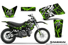 YAMAHA TTR90 CREATORX GRAPHICS KIT DECALS SAMURAI GB