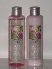 UN MATIN AU JARDIN FRESH ROSE SET x 2 (SHOWER GEL + BODY LOTION 200 ml ea) NEW!