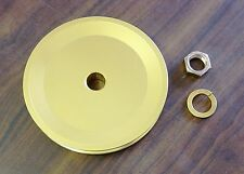 """5"""" alternator pulley, billet with deep  V-Belt groove  GM and Ford alternators"""