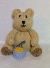 KNITTING PATTERN - Honey Bear chocolate orange cover or 15 cms teddy toy