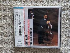 NEW SEALED DVORAK CONCERTO FOR  VIOLINCELLO  GARY KARR JAPAN OBI CD FREE SHIP