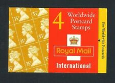 GB Barcode Booklet - 1995 Worldwide Postcard Stamps, GK6