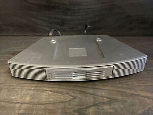 Bose 3 Disc Multi-CD Changer for Wave Radio/CD Player Titanium Silver Tested