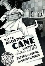 Materiale pubblicitario di alimentari da collezione