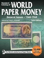 Standard Catalog of World Paper Money, General Issues 1368-1960, Paperback by...