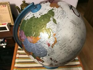 "Replogle 12"" Diameter Globe Platinum Classic Series Raised with Stand"