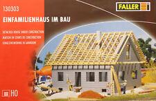 Faller 130303 H0 - Einfamilienhaus im Bau NEU & OvP