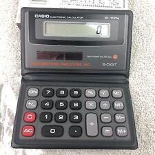 Casio SL100B Electronic Solar Pocket Folio Calculator 8 Digit