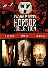 Raw Feed Horror Collection.Uncut Horror.3 DVD Box. New!