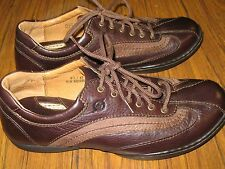 BORN Brown Leather Oxfords Casual Lace Up Style #W61035 Womens Size 9.5 M/W