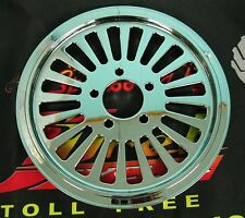 """Ultima Chrome 1-1/4"""" King Spoke Rear 70T Pulley for 99'-Earlier and 00'-Later"""