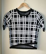 Viscose Knit Collarless Tops & Blouses for Women