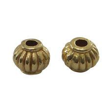 100PCS Tibetan Alloy Bead Metal Spacer Loose Beads Lantern Golden DIY Jewelry
