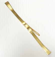 Citizen BRAND NEW Gold Tone 11mm Stainless Steel Back Watch Band Replacement