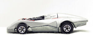 Hot Wheels Crack Ups - Top Bopper - ( Gray/Silver, Black Wall)