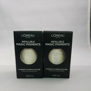 L'Oreal Infallible Magic Eye Pigments 440 Ivy League 0.12oz Set Of 2 New