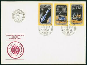 Mayfairstamps Hungary FDC 1975 Spacecraft Combo Apollo Soyuz First Day Cover wwp