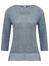 M&Co Hip Length Scoop Neck Petite Tops & Shirts for Women