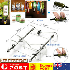 Glass Bottle Cutter Kit Adjustable Jar Cutting Metal Machine Recycle Tool Craft