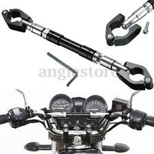 Universal Adjustable CNC Motorcycle Handlebar Cross Bar For Honda Kawasaki US