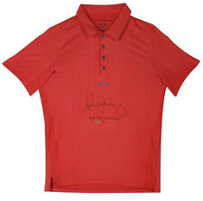 Upper Deck Authenthicated Rory McIlroy Autograph & Inscribed Oakley Polo SN:/25