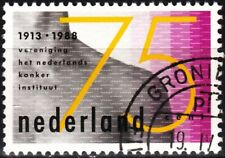 Netherlands 1988 Mi. 1342. Medicin. Amsterdam Cancer Institute - 75, Used / Cto